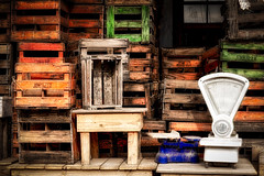 Crates And Stuff (Daniela 59) Tags: 100x2017 100xthe2017edition image74100 theworldaroundme sliderssunday hss crates empty stacked scale textures jonkheer jonkheerfarmerswinery robertson westerncape southafrica hdraddicted wooden madeofwood danielaruppel