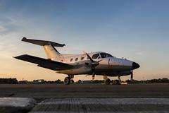Embraer EMB 121AA Xingu - 14 (NickJ 1972) Tags: raf northolt photoshoot photocall photo shoot evening sunset aviation 2017 xxii 22 embraer emb 121 xingu 105 yu