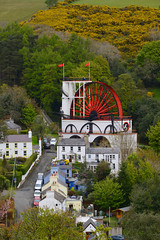"LAXEY WHEEL (LADY ISABELLA), LAXEY, ISLE OF MAN, UNITED KINGDOM. (ZACERIN) Tags: ""laxey wheel"" ""lady isabella"" ""laxey"" ""isle of man"" ""united kingdom"" ""24 september 2004"" ""largest working waterwheel in the world"" ""the great laxey ""lieutenant governor charles hope"" wheel mines trail"" ""water ""pictures ""history ""zacerin"" ""christopher paul photography"" ""outdoors"" ""landscape"" ""drone pictures"" pictures lady ""aerial ""great mines"" ""red"" ""water"" ""architecture"""