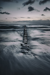 stormy sea (Diana Klawitter) Tags: zingst horizonte festival darss ostsee mecklenburg buhne sonnenaufgang