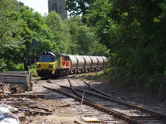 70817 Moorswater (33) (Marky7890) Tags: colasrail 70817 class70 6c35 moorswater liskeard cornwall railway train