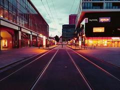 Berlin Tram Station Part 2 (Kubilay Yu.) Tags: berlin alexanderplatz tram strasenbahn station bahnsteig bvg berliner verkehrsbetriebe