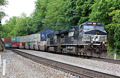 NS Freight 1 (goremirebob) Tags: trains railroads virginia norfolksouthern ns intermodal containers doublestacks