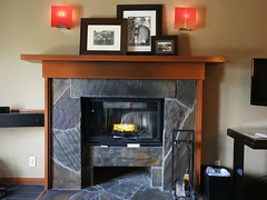 Fireplace in Room 322 (MissLydia) Tags: summer snoqualmiefalls wastate twinpeaks snoqualmie july nature 2017 theowlsarenotwhattheyseem staycation waterfall
