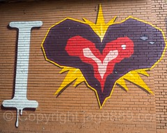 "Detail of ""I Love The Bronx"" Mural, Foxhurst, New York City (jag9889) Tags: 2017 20170605 allamericacity bronx detail foxhurst graffiti love mural ny nyc newyork newyorkcity outdoor painting simpsonstreet streetart tagging tatscru thebronx usa unitedstates unitedstatesofamerica wall jag9889 us bg183 bio graffitiartist how muralist nosm nicer themuralkings"