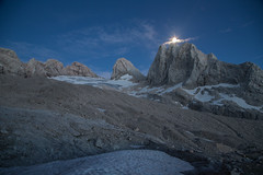 expo-8299 (ernst.scherr) Tags: adamekhütte gosau dachstein salzkammergut gletscher schnee natur mondaufgang mondlicht sonnenuntergang alpen pflanzen