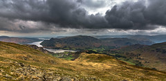 ullswater (Phil-Gregory) Tags: lakedistrict nikon d7200 tokina 1116mmf8 116proatx 1120mmf28 11mm f28 ultrawide wideangle scenicsnotjustlandscapes landscape highpoint vantage pov dof cumbria nationalpark clouds sky storm light hike mountain fly colour color field peace