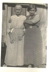 frail mother with her adult daughter (912greens) Tags: mothers daughters elderly women womentogether 1920s dresses