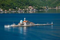 20170424-Canon EOS 6D-4323 (Bartek Rozanski) Tags: perast kotor montenegro mediterranean bay fiord boka bokakotorska mountains crnagora church catholic island dome landmark