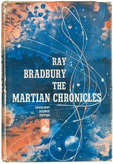 The Martian Chronicles (whatinthehill) Tags: lsuspecialcollections lsulibraries lsu bookcover raybradbury literature fantasyliterature