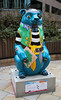Captain Blue Bear (ahisgett) Tags: birmingham children's hospital charity wild art big sleuth 2017 bearmingham