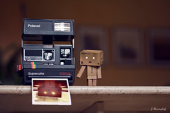 Danbo 2 (spootnik_) Tags: canon eos photo photography danbo japan toy interior inside polaroid camera