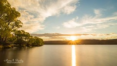 Sunset at Lake Alexandrina (Maree A Reveley Photography) Tags: goldenhour newzealand southisland southcanterbury canterbury mackenzie lake lakealexandrina rays longexposure nisind1000 nisi nisifilters mareeareveleyphotography canoneos6d canonef24105mmf3556isstm autumn 2017 may sunset dusk
