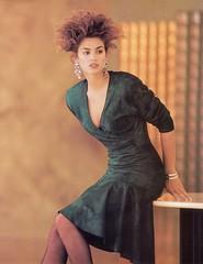 Vakko 1987 (barbiescanner) Tags: vintage retro fashion vintagefashion vintageads 80s 1980s 80sfashion 1980sfashion cindycrawford vakko