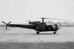 A-550_08jun83EHGG_z (Heron81) Tags: ehgg grq eelde groningeneelde groningenairporteelde gae a550 sudaviation se3160 alouetteiii cn1550 helicopter klu koninklijkeluchtmacht rnlaf royalnetherlandsairforce negativescan