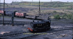 1968 Marley Hill NCB No.85 Andrew Barclay No.2274 49 on shed 29051968 JM BoyesARPT (Ernies Railway Archive) Tags: ncb marleyhillcolliery tanfieldrailway
