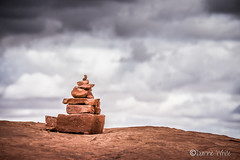 117/24 Stacked Stones (xTexAnne) Tags: ©diannewhite nikond7200 moab utah canyonlands rocks stones stacked
