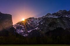 Sonne über den Alpen (colour mood) Tags: ausflüge bayern berchtesgaden deutschland europa freizeit frühling geographie himmel jahreszeiten königssee landschaftsfotografie natur sonnenuntergang stbartolomä schönauamkönigssee de