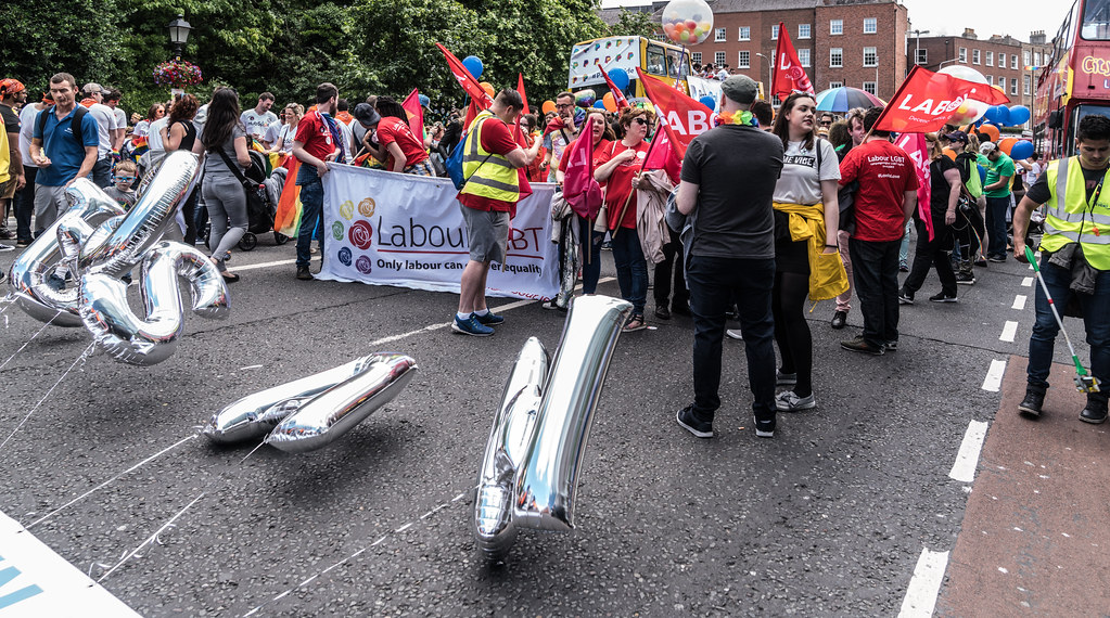 LGBTQ+ PRIDE PARADE 2017 [STEPHENS GREEN BEFORE THE ACTUAL PARADE]-129846