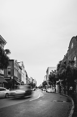 Downtown Charleston-197 (King_of_Games) Tags: charleston chs southcarolina sc downtown rain rainyday blackandwhite kingstreet kingst