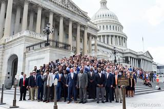 Clemson Tigers visit U.S. Capitol Photos