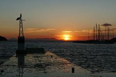 P1000590 (FAJM) Tags: greece syvota sivota thesprotia epirus σύβοτα θεσπρωτία ήπειροσ ελλάδα sunset corfu sea κέρκυρα