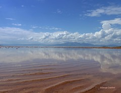 Seamill Arran & Clouds2 (g crawford) Tags: ayrshire northayrshire crawford portencros seamill westkilbride water seaside bythesea shore clyde riverclyde firthofclyde ardneil ardneilbay ardneilbeach reflection reflect arran