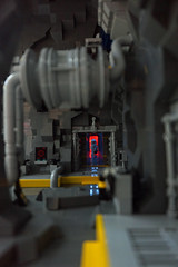 Peak (Rogue Bantha) Tags: lego space corridor pipes