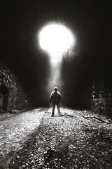 Castaway. (FadeToBlackLP) Tags: longexposurephotography monochrome blackandwhite underground tunnel hole atmosphere atmospheric fog mist drama
