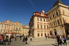 old town square (bennychun) Tags: prague praha praga czech czechrepublic europe euro vltava karlovmost oldtownsquare powdertower stvitus travel spring capital unesco heritage
