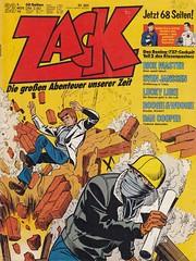 ZACK / 1976 Nr. 23 (micky the pixel) Tags: comics comic heft koralleverlag zack tibet richochet rickmaster
