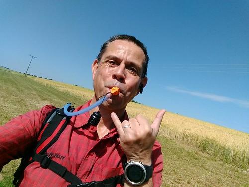 Frank, der Nuckler. #Wandern auf dem Leininger Burgenweg #rlperleben