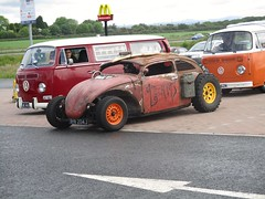 1971 VW 1200 Beetle (occama) Tags: bhw204j vw beetle 1971 rat look chop modified rusty special cornwall uk volkswagen air cooled