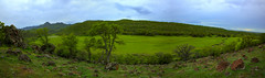 Smiley Hill (Sultan Sultani) Tags: green hill tree panoroma cloud sky mountain rock stone nature creek water stream tamron nikon wide wideangle vegetation