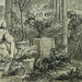 MONNET Charles - La Promenade (drawing, dessin, disegno-Louvre RF34443) - Detail 20-