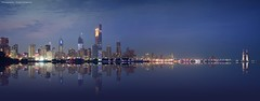 City view (khalid almasoud) Tags: kuwait reflection city pentaxk01 pentax الكويت photographyrocks