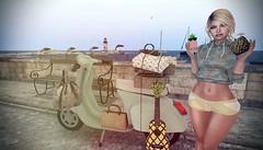#FineApple (FaithA94) Tags: slphotography sl secondlife 3dart summer beach maitreya logo vinyl uber truthhair posejunkie ~bbd~poses wredziaa people snapshot pineapples