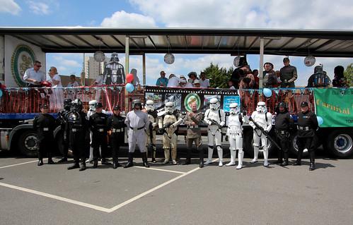 Elstree & Borehamwood 2017 Civic Parade celebrating 40 Years of Star Wars!