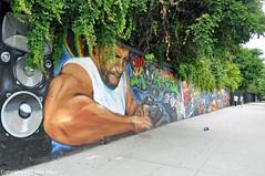 DJ Kool Herc Mural (Trish Mayo) Tags: djkoolherc mural paintedwall hiphop urbanart art bronx
