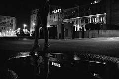 Black AND White (R*Wozniak) Tags: reflection blackwhite bw blackandwhite city beautiful women nikond750 nikon