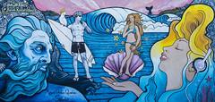 bondi renaissance (Greg Rohan) Tags: urbanwalls paintedstreetart paintedwalls urbanart urban bondibeach bondibeachart d7200 2017 arte art artwork artist bondi beach sydney photography
