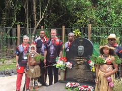 """Eddie Koiki Mabo grave site, Mabo Day, 03/06/17 • <a style=""""font-size:0.8em;"""" href=""""http://www.flickr.com/photos/33569604@N03/35336782125/"""" target=""""_blank"""">View on Flickr</a>"""