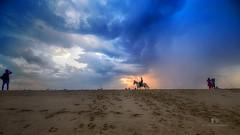 Colors at Dusk... (aestheticsguy2004) Tags: nikon nikond750 tamron tamron1530 neeteshphotography sunset evening sky dusk twilight colorsinsky clouds cloudsafterrain rainyclouds blue landscape marinabeach chennai tamilnadu india travelindia ngc