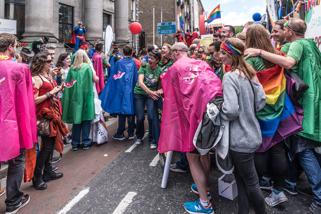 LGBTQ+ PRIDE PARADE 2017 [STEPHENS GREEN BEFORE THE ACTUAL PARADE]-129943