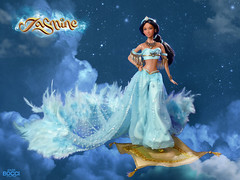 Jasmine (Aladdín) (davidbocci.es/refugiorosa) Tags: barbie mattel fashion doll muñeca refugio rosa david bocci ooak jasmine aladdín disney arab