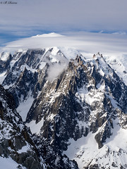 Mount Blanc (brendan_reeves) Tags: mount blanc aiguilledumidi france chamonix clouds mountains french alps