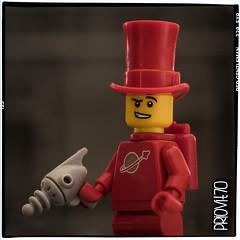 Red gentleman