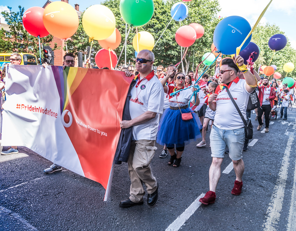 LGBTQ+ PRIDE PARADE 2017 [ON THE WAY FROM STEPHENS GREEN TO SMITHFIELD]-129985
