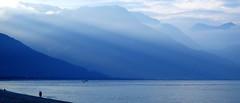 rays of blue (Wilson Au | 一期一会) Tags: qixingtan hualien taiwan landscape blue fujifilm xe2 xf1855mmf284rlmois 台灣 花蓮 七星潭 light 光線 風景 mountain 219 velvia vivid