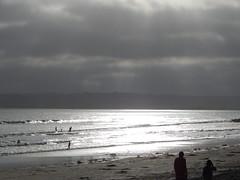 Light effect (Rubén HPF) Tags: san diego sunset ocean pacific beach tide pool cabrillo gaslamp quarter santa fe depot trolley
